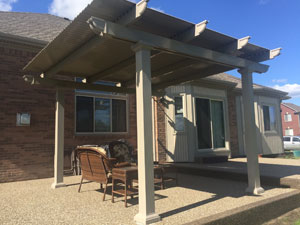 Louvered Patio Cover Construction For Dynamic Shade In San Diego, CA,  Backyards