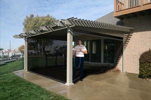 Screen rooms la mesa ca for Front porch kits for sale